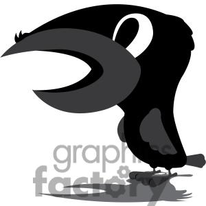 Raven clipart cartoon #6