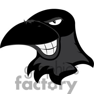 Raven clipart cartoon #4