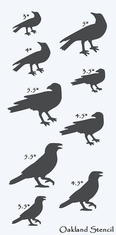 Raven clipart primitive #13