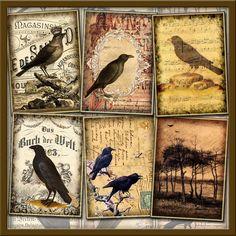 Raven clipart primitive #8