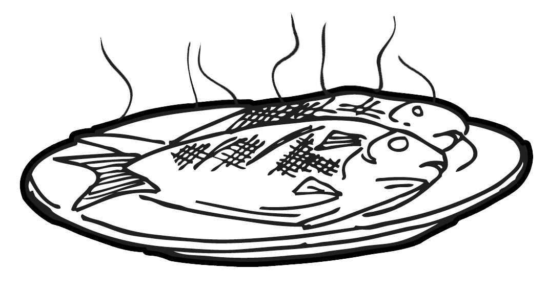 Sardines clipart food shelf Zone Fish Cooked Cliparts Fish
