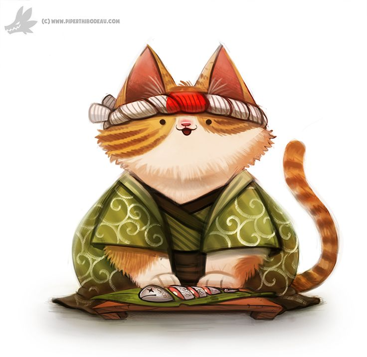 Raw clipart sushi chef Sushi Painting and Pinterest Creations