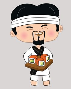 Raw clipart sushi chef Using to are you Are
