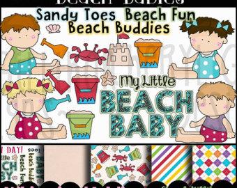 Reach clipart Beach Clipart Clipart  Digital Beach FLIP