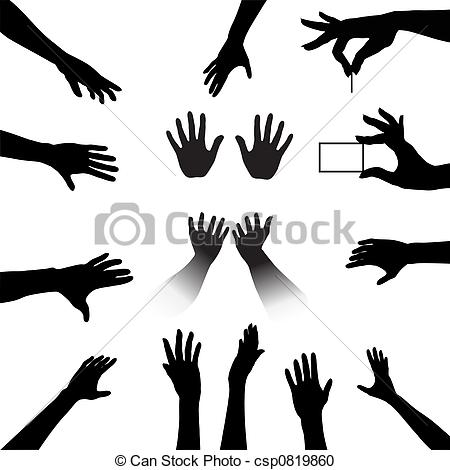 Reach clipart Reaching Hand Clipart Stock clipart Hand People art
