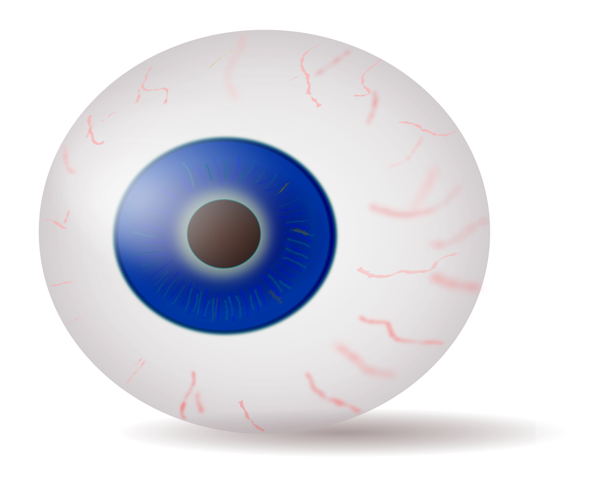 Blue Eyes clipart realistic Clipart blue Eyeball realistic blue