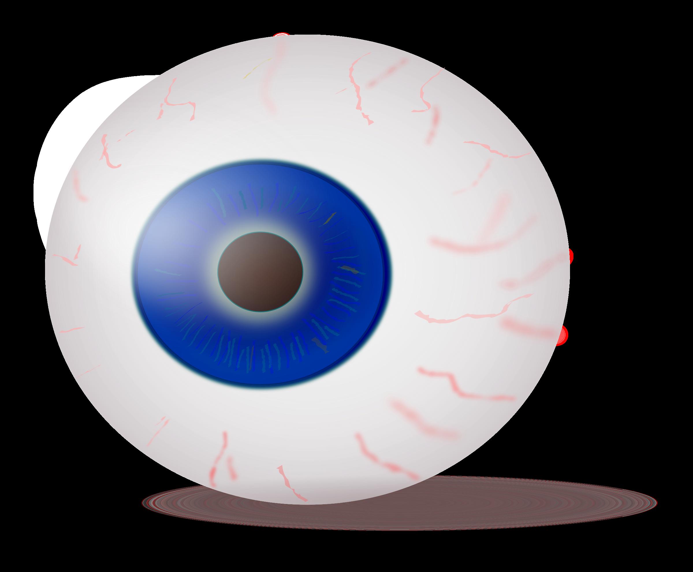 Realistic clipart Eyeball Clipart realistic Eyeball blue