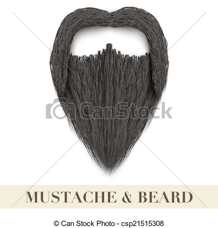 Realistic clipart beard With beard Realistic Art curly