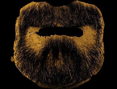 Beard clipart realistic #3