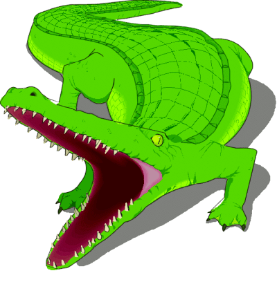 Alligator clipart mean Art  crocodile Crocodile graphics