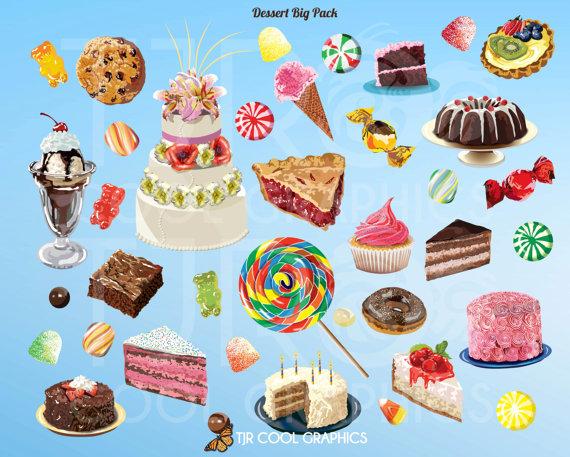 Realistic clipart dessert #7