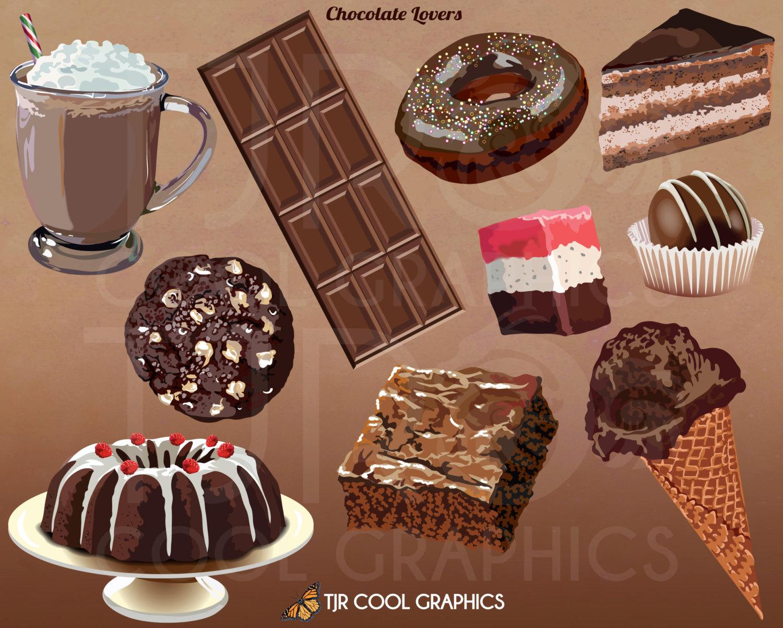 Realistic clipart dessert #9