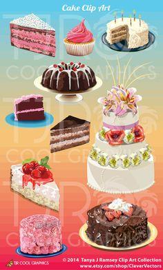 Realistic clipart dessert #11