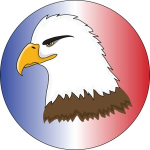 Bald Eagle clipart cartoon Cute clipartfest Realistic eagle clipartfest
