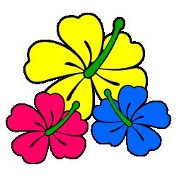 Tropics clipart yellow hibiscus #5