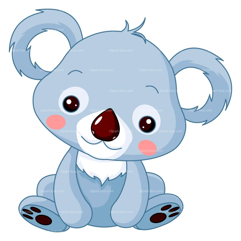 Wildlife clipart cute koala Royalty KOALA free vector CLIPART