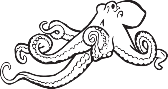 Realistic clipart octopus Clipart Octopus and #686 Octopus
