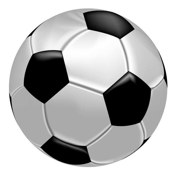 Ball clipart vector Soccer Free Vector Art Realistic