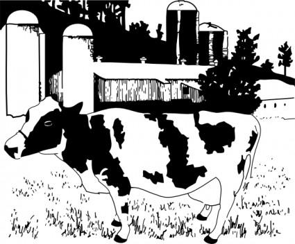 Reaper clipart farm 3 Farm Farm Page Cow
