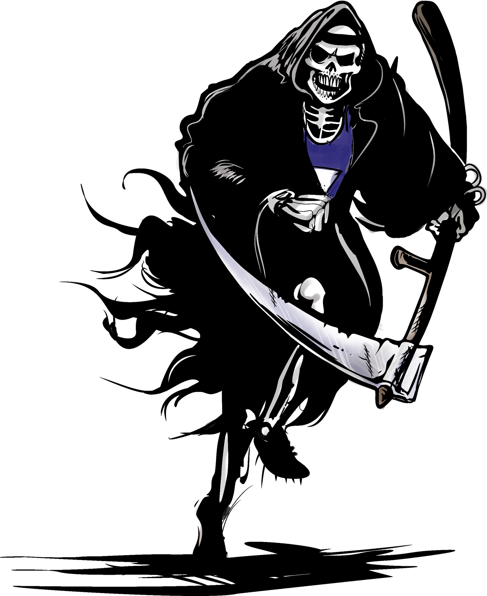 Reaper clipart grip In Reaper Athlete Running by