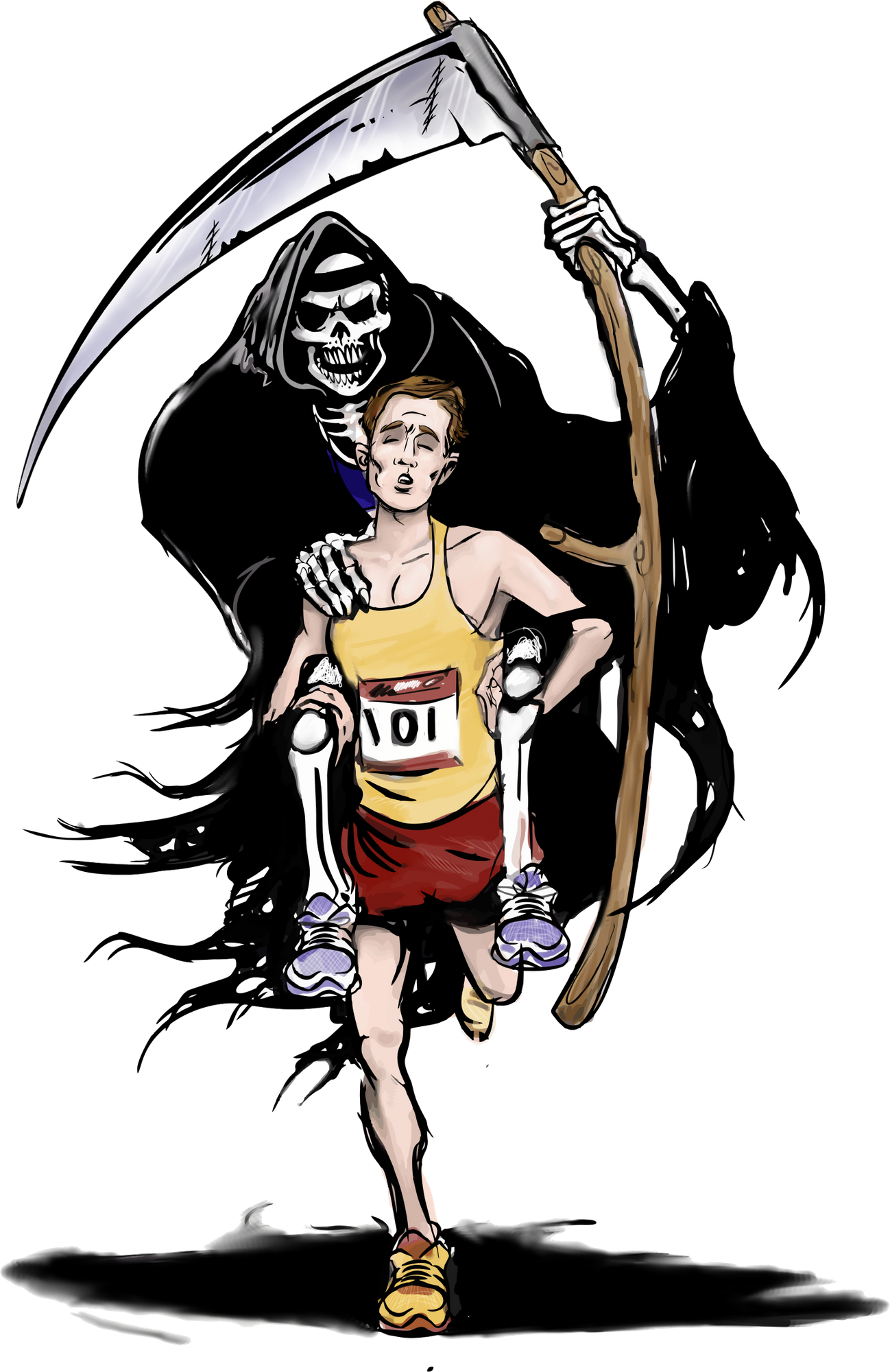 Reaper clipart grip In Voice Athlete Negative by