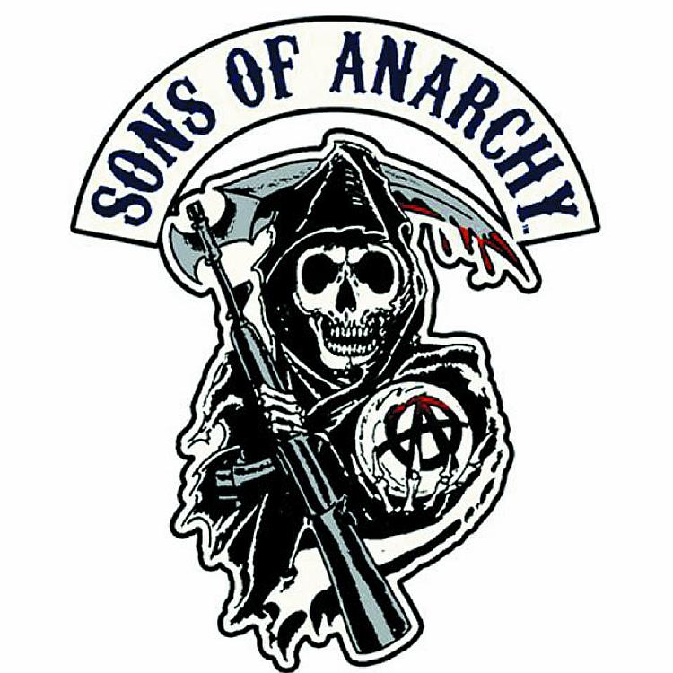 Reaper clipart son anarchy OF PATCH Anarchy Anarchy REAPER