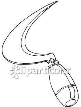 Reaper clipart tool Steel edged School