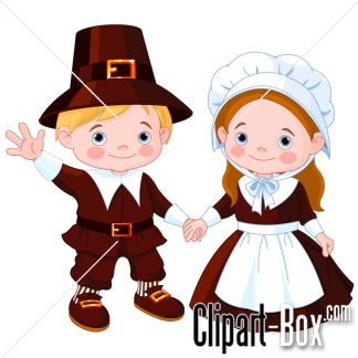 Reaper clipart traditional costume About COUPLE PILGRIM images 4658