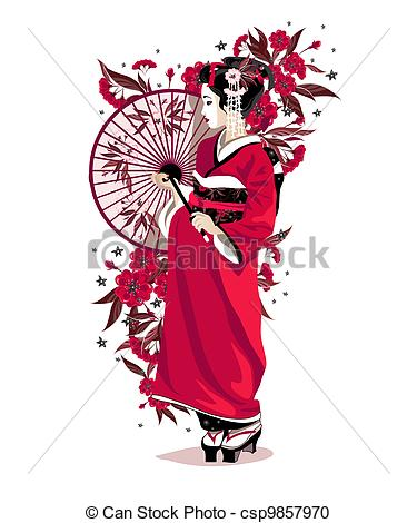 Reaper clipart traditional costume Japanese clipart Clothes drawings #13