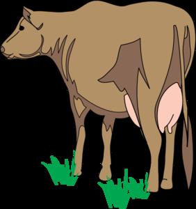 Rear clipart Cow com  Art Brown