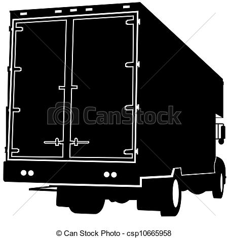 Rear clipart View of Clipart Vector View
