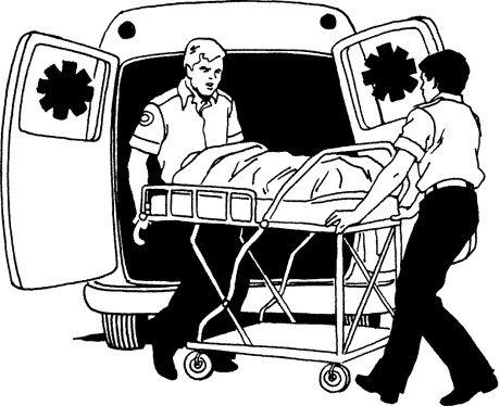 Rear clipart ambulance Clip paramedics Clip Photos Images