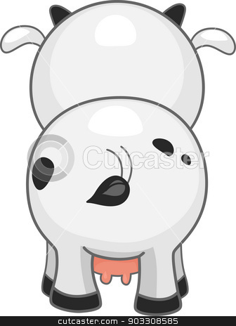 Rear clipart cow Back vector Back Cow Cow