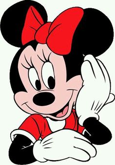 Rear clipart minnie mouse #14