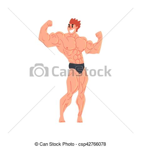 Rear clipart muscled #2