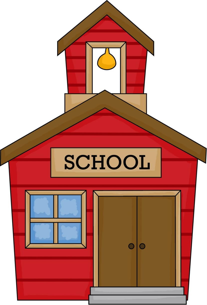 Book clipart animated Schoolhouse Clip Welcome School to
