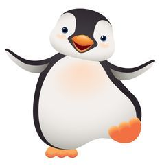 Penguin clipart open mouth Images art free good Pinterest