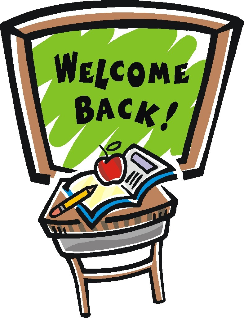 Amonday clipart welcome back Free to Back Pictures clipart