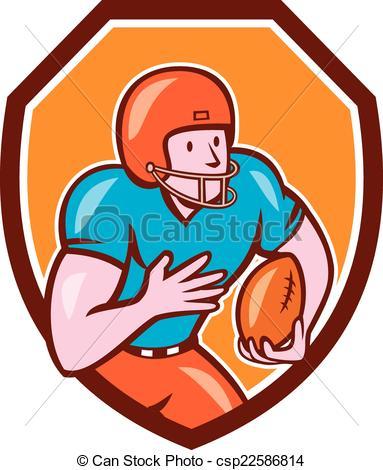 Receiver clipart american football Ball Ball Football csp22586814 Running
