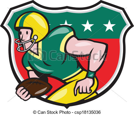 Receiver clipart american football #5