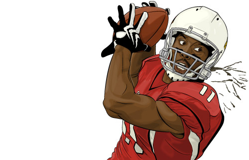 Receiver clipart arizona cardinals – Page Dark NFL Wing