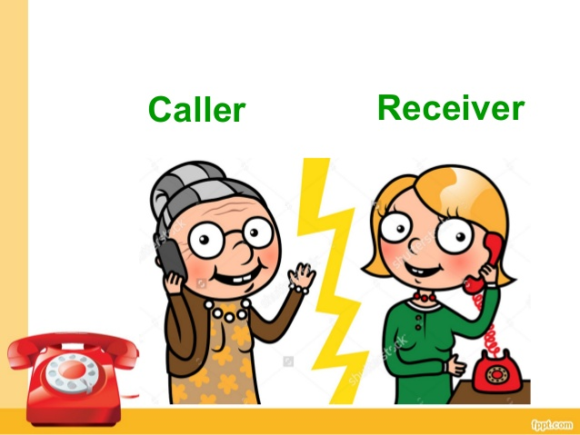 Receiver clipart caller Call a Making phone Receiver;