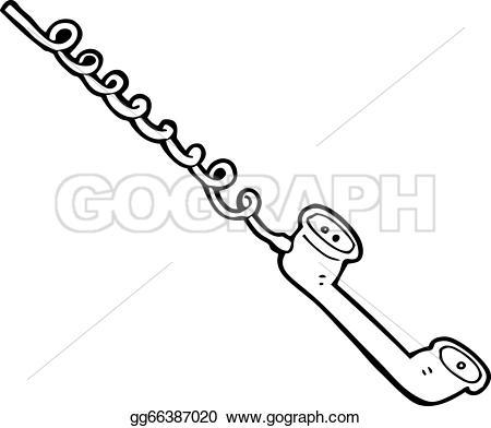 Receiver clipart cartoon EPS gg66387020 receiver telephone