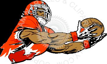 Receiver clipart football catch Ball Receiver Ball Receiver Color