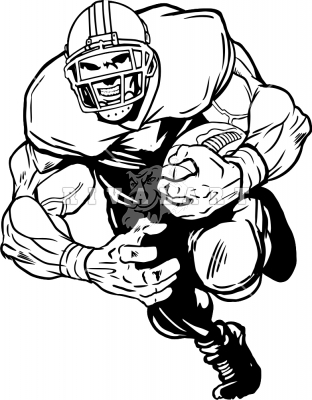 Receiver clipart football offensive lineman Mean – Football Mean Clip