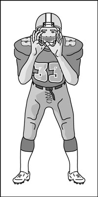 Receiver clipart football offensive lineman  wants his and tunnel