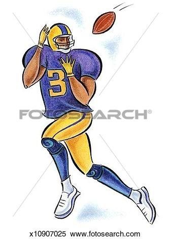 Receiver clipart football player About of clipart Clipground football