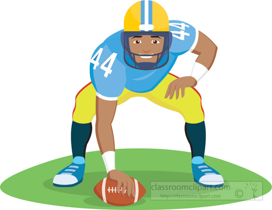 Receiver clipart football quarterback #14