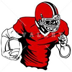 Receiver clipart football quarterback A of Sports #cartoon