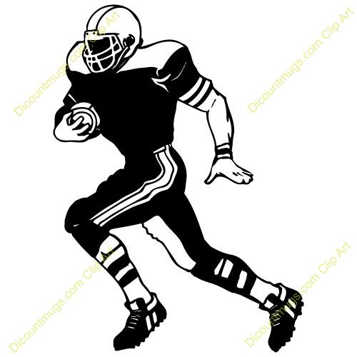 Receiver clipart football running back Football (90+) Clipart running Running